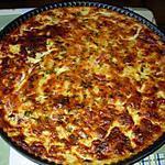 recette Tarte aux courgettes sans pâte