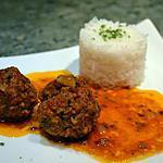 recette Boulettes de boeuf à la tunisienne