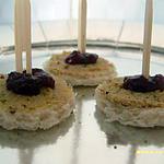 recette toasts de foie gras à la fraise (saint-sylvestre)