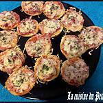 recette Mini-Pizza Rapide et facile !