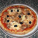 recette pizza thon fromage