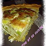 recette Tarte pomme de terre, poireaux et Comté