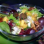 recette petite salade gourmande (accompagnement de noël)
