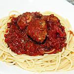 recette Spaghetti & Boulettes