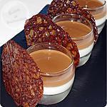 recette Panna cotta sauce carambar… Aïe ! Carambar !!!