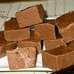 recette Carrés de Caramels mous au chocolat
