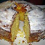 """Gâteau """"chiffon"""" aux amandes et à l'orange"""