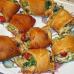 Couronne au fromage et légumes