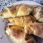 recette mini croissant a la créme et fromage