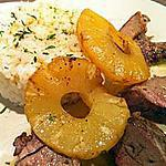 recette Filet mignon de porc à l'ananas