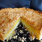 recette tarte citron et crumble coco