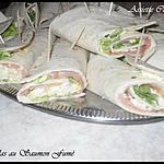 Tortillas au Saumon Fumé