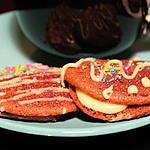 red Velvet : recette Whoopies Red Velvet