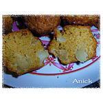 recette Muffins à la pâte de spéculoos et poires