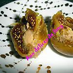 recette figues farcies au foie gras