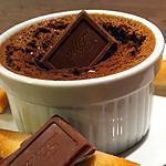 recette Petits pots au chocolat