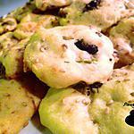 recette Cookies salés aux deux olives