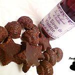 recette Chocolats à la violette