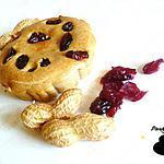 recette Mini cuajada aux cacahuètes et cranberries