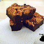 recette Brownie au beurre de cacahuètes