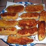 recette Croquettes d'oeufs