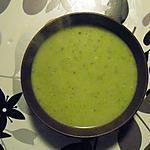 recette soupe courgettes / bleu de bresse