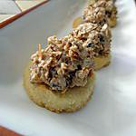 recette Rochers amande-chocolat blanc