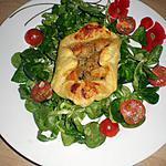 recette feuilleté saint jacques crevettes