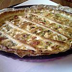 recette tarte poulet legumes et feta