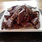 fudge : recette fudge chocolat-amande