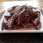 recette fudge chocolat-amande