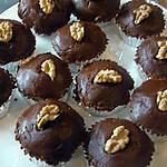 recette Cupcakes à la cassonade et aux noix
