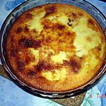 recette Flan pâtissier aux pruneaux au lait de chèvre et sans gluten