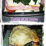 recette Lasagne jambon, raclette et épinards