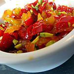 recette confits de poivrons aigre doux et romarin