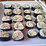 recette mes premiers sushis