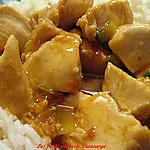 recette Poitrine de poulet sauce aux clémentines