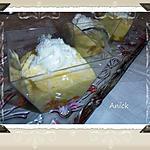 recette Verrines de crème orange -coco