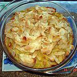 Clafoutis aux pommes parfumé à l'orange sans gluten