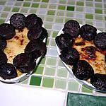 recette Gratin de poireau boudin noir