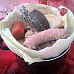 recette Potée de chou blanc à la saucisse
