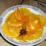 recette soupe d'orange au caramel d'épices