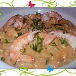 recette risotto de crevettes