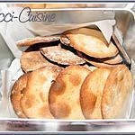 recette Biscuits sablés à la farine de châtaigne  et au sirop d'érable