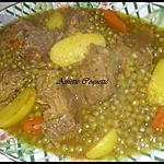 recette Tajine de veau, petits pois, carotte, pomme de terre