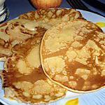 recette Pancakes ou crêpes épaisses aux pommes