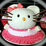 "Hello kitty : recette Gâteau 3D ""Hello Kitty"""