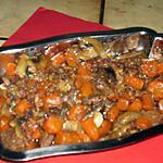 recette boeuf braisé aux carottes