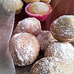 recette Assortiments de mini beignets au sucre au citron et au nutella