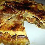 recette Tarte aux pommes aux noix et au whisky